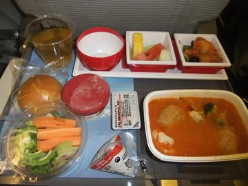 JAlホノルル便機内食
