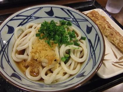 ハワイ丸亀製麺ぶっかけ