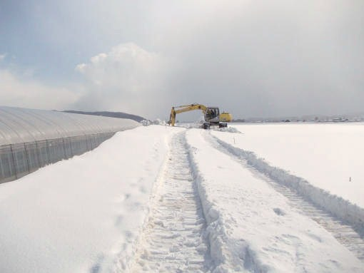 20130401_排水路の除雪1