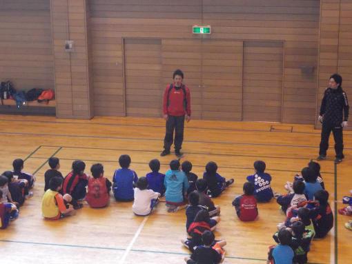 20130420_下川・滝上サッカー教室@下川スポーツセンター