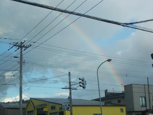 20130828_名寄市内の虹
