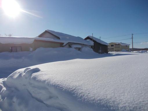 20140116_軒下の雪