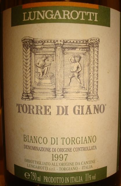Lungarotti Torre Di Giano Bianco Di Torgiano 1997