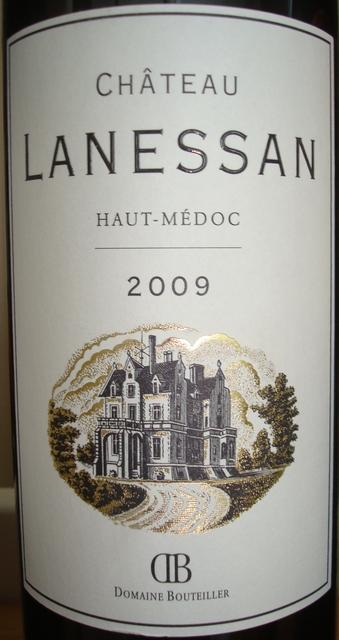 Chateau Lanessan 2009