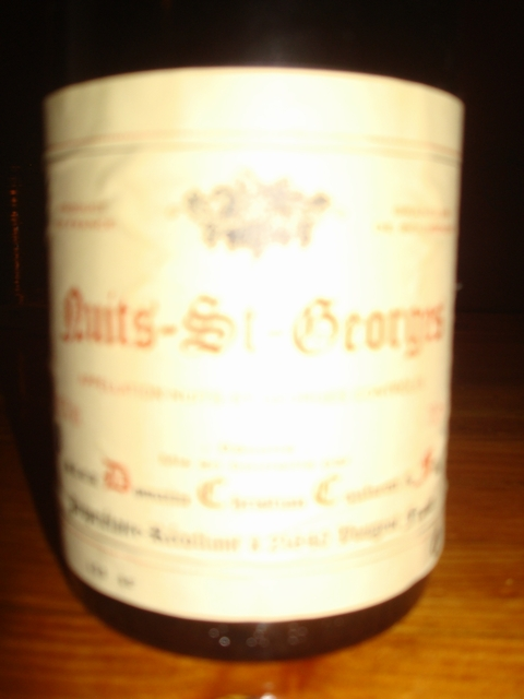 Nuits St George Domaine Christian Confuron & Fils 2003
