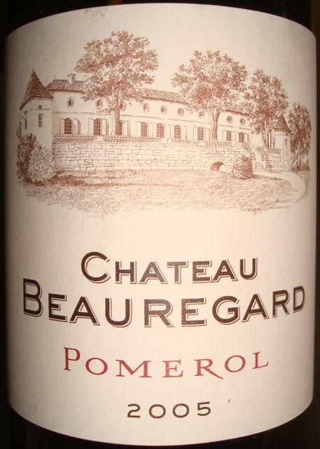 Chateau Beauregard 2005