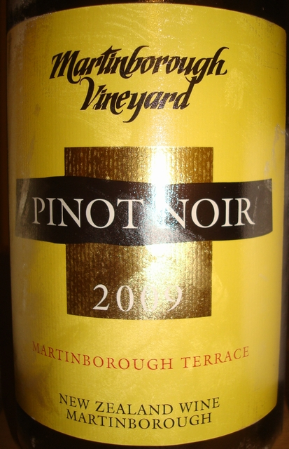Martinborough Vineyard Pinot Noir 2009