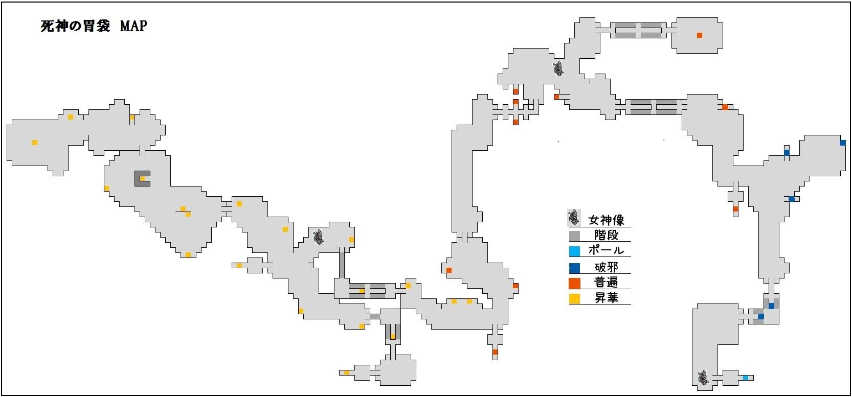 夏の精霊祭MAP