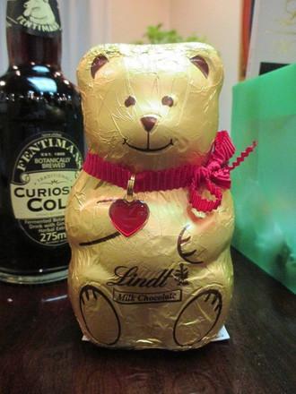 リンツチョコレート&おしゃれなコーラ。