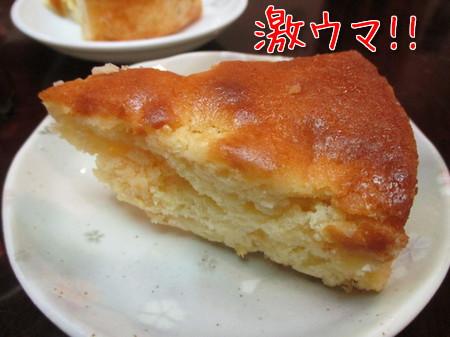 手作りりんごケーキ。