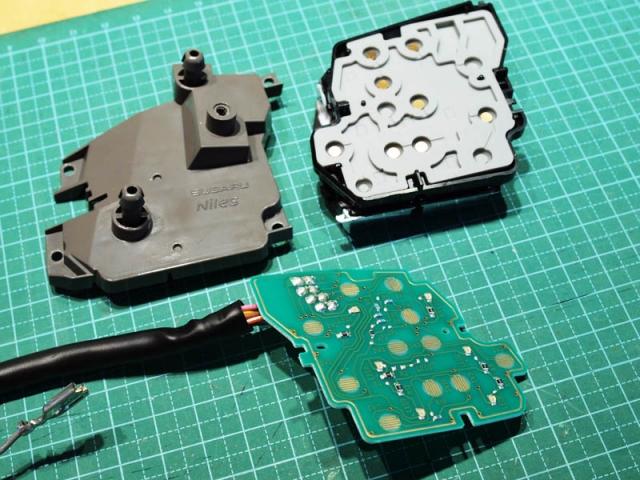 クルコンスイッチのLED打ち替え5