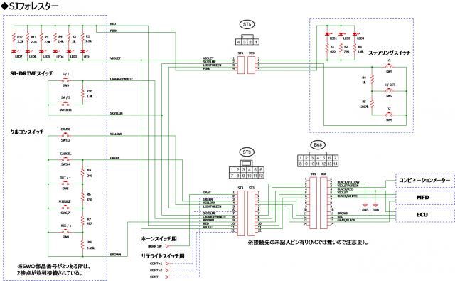 クルコンSW配線組み換え2