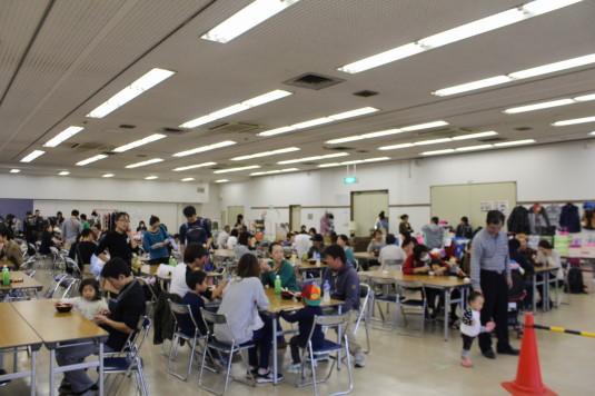 山梨ラーメン祭り フードコート