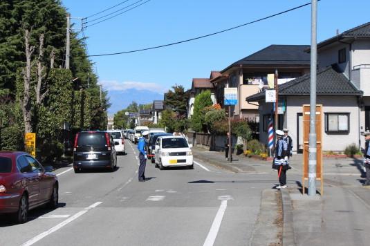稲穂祭り 渋滞