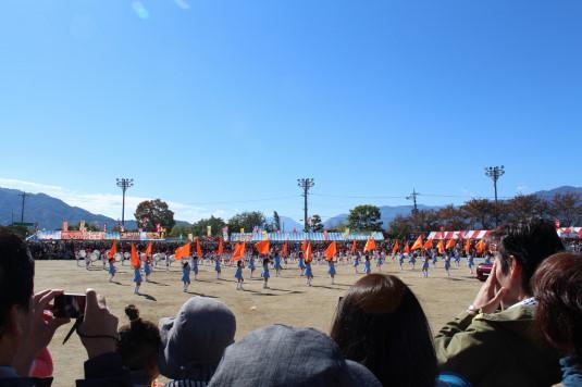 稲穂祭り マーチング 保護者