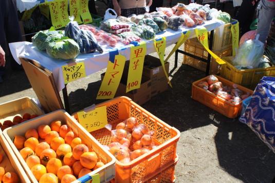 稲穂祭り 野菜