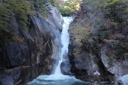 紅葉 昇仙峡 仙娥滝