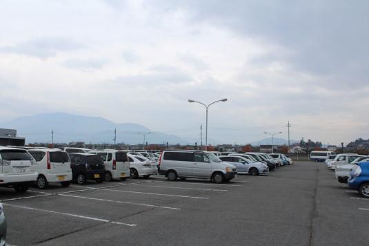 甲州富士川まつり 駐車場
