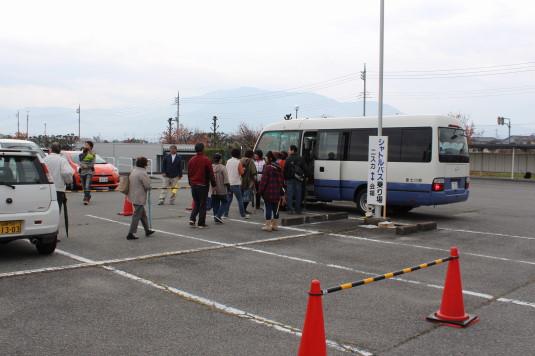 甲州富士川まつり シャトルバス
