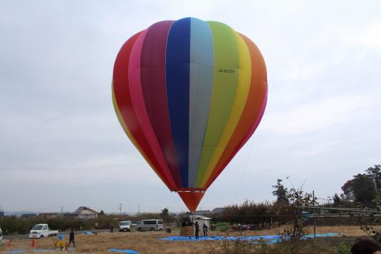 甲州富士川まつり 熱気球
