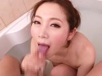 【主観】 お風呂でイチャイチャ手コキフェラ抜き!