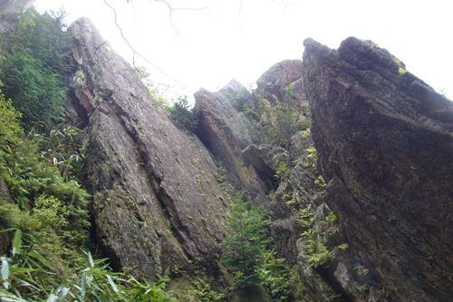 御岩山岩塊