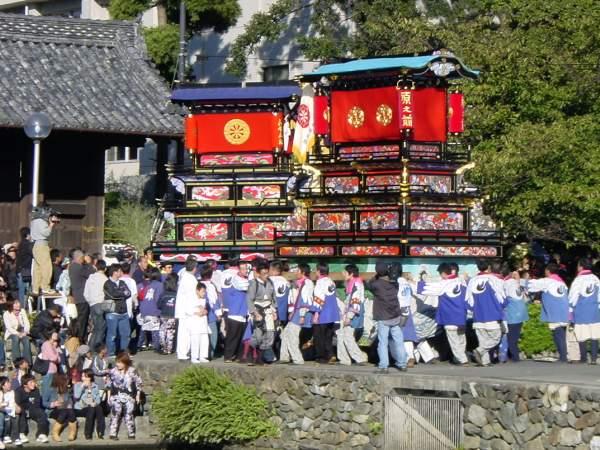 御殿前 西条祭り2004 愛媛県西条市 矢野寛一郎氏撮影