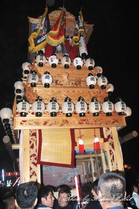 西条祭り2012 朝日町だんじり(屋台・楽車) 御旅所 伊曽乃神社祭礼 愛媛県西条市