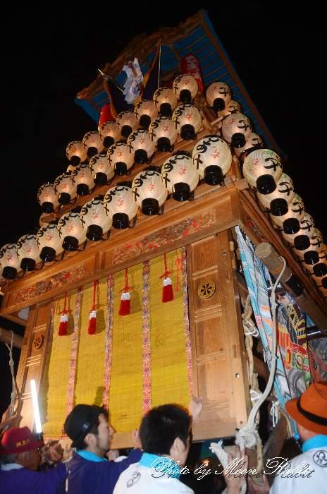 お旅所 日明だんじり(屋台・楽車) 西条祭り2012 伊曽乃神社祭礼 愛媛県西条市