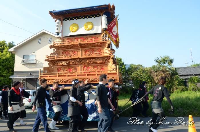 高尾神社春祭り2013 上之川だんじり(上の川屋台・楽車)