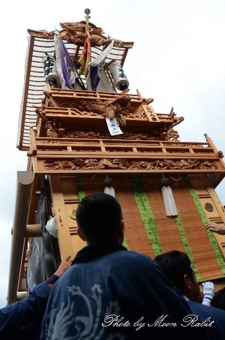 上神拝だんじり(屋台) 御殿前 西条祭り2013 伊曽乃神社祭礼 愛媛県西条市