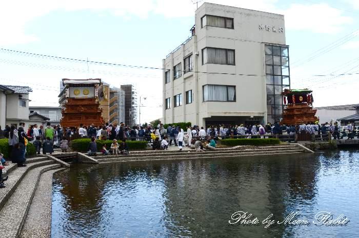 洲之内屋台(だんじり) 新町泉 伊曽乃神社祭礼 西条祭り2013