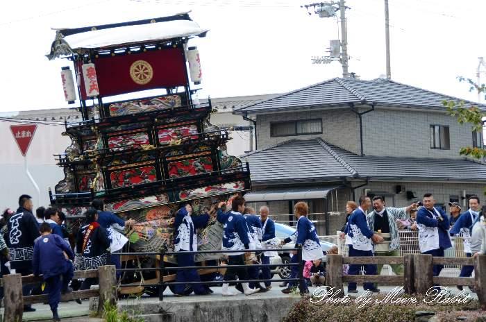 奥之内屋台(奥の内だんじり) 新町泉 伊曽乃神社祭礼 西条祭り2013