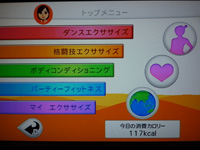 Fitness Party 2013年10月03日カロリー 合計 117kcal