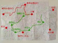 UTSK地図(上畑~緩木登山口)