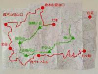 UTSK地図(尾平トンネル~杉ヶ越)