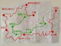 UTSK地図(杉ヶ越~白谷)