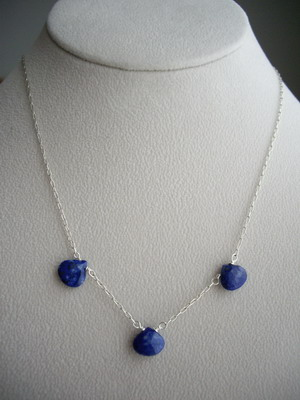 lapis lazuri necklace