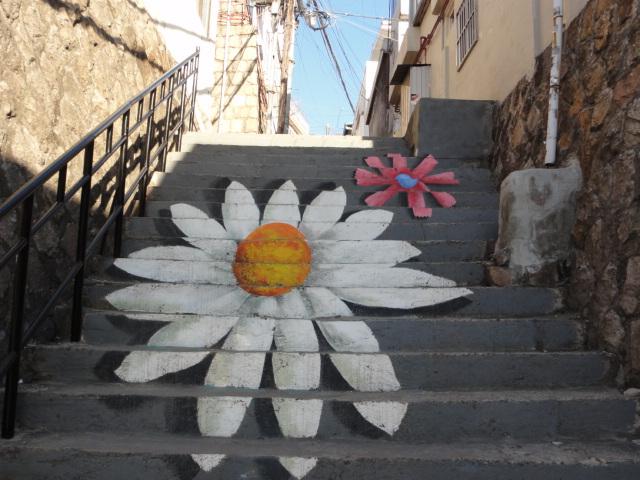 2014年1月9日 梨花洞壁画村 花階段