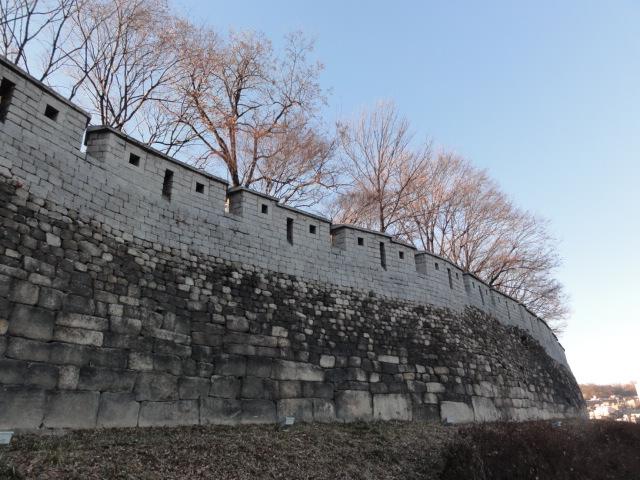 2014年1月9日 ソウル城郭