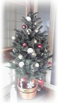クリスマスツリー 蓬庵 2013