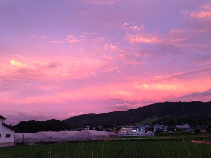 夕焼け 20130619 2