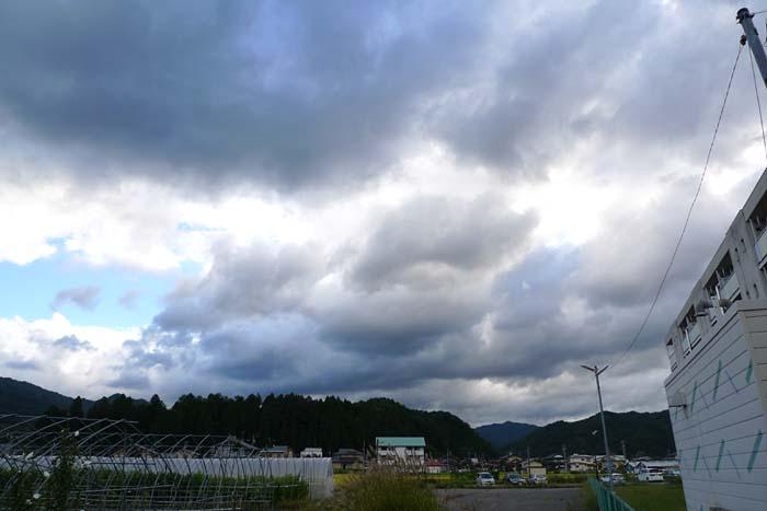 秋雨 天候不順 2013