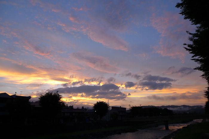 夏の夕焼け 20130724 2