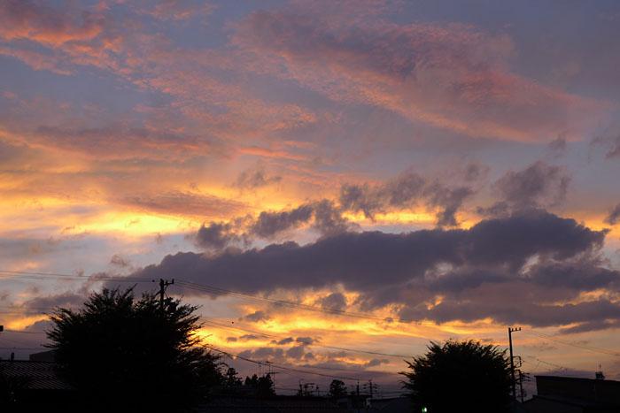 夏の夕焼け 20130724 3