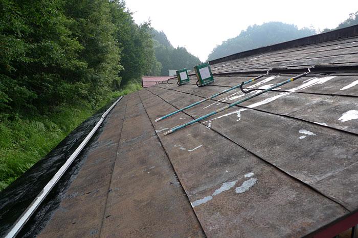 屋根のメンテナンス 2013
