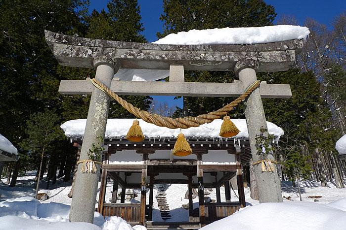 六厩 白山神社 1