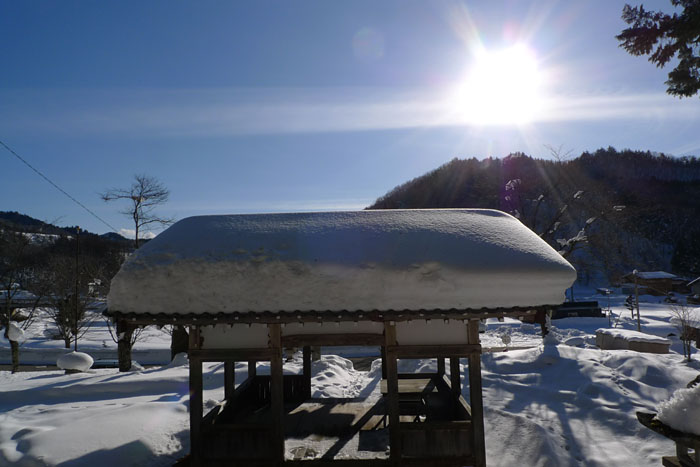 農閑期 飛騨 2014 1月