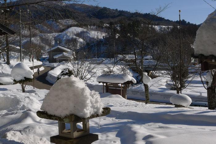ひだの冬景色 2014 荘川