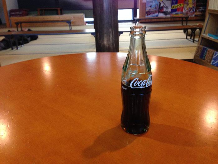 コカコーラ 瓶 2014 荘川 湯